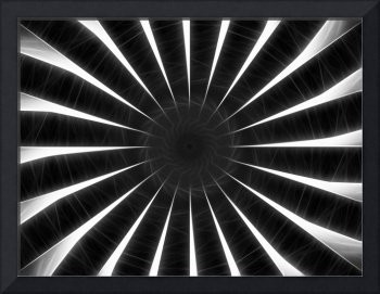 Gray Kaleidoscope Art 9