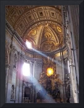 Light in St. Peters Basilica