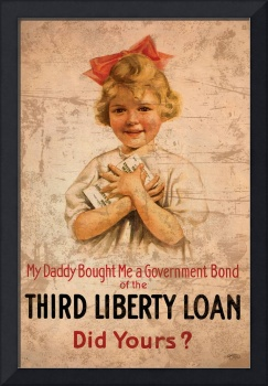 My Daddy Bought Me Third Liberty Loan 1