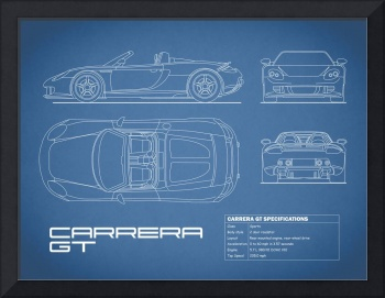 Porsche Carrera GTS Blueprint