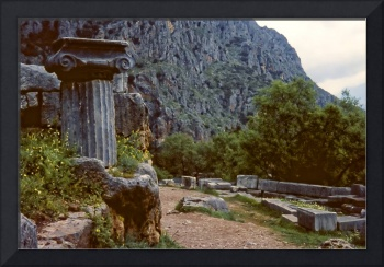The Sacred Way in Springtime, Delphi, Greece 1960