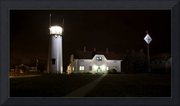 Chatham Lighthouse at Night Panorama