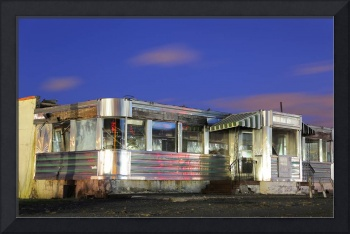 Diner Before Demolition on Rt. 1, New Jersey
