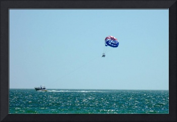 Kiters in the Gulf