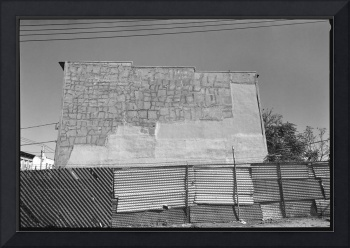 Patched Wall, Brooklyn, New York