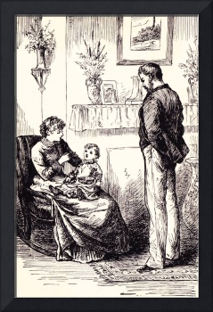 Family from Rose in Bloom by Louisa May Alcott
