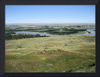 Meandering Missouri River