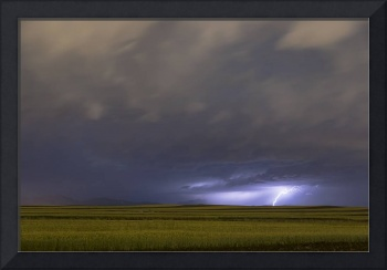 High Plains Lightning Strike
