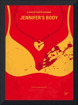 No698 My jennifers body minimal movie poster