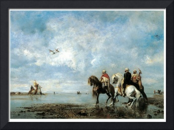 The Heron Hunt by Eugene Fromentin