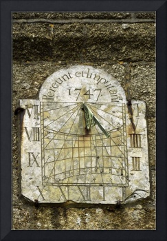 Vertical Sundial, St Buryan Parish Church (38206)