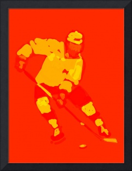 Hockey Left Wing red orange (c)