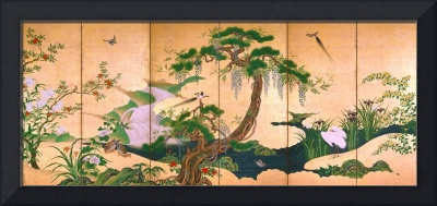 Birds and Flowers of Spring and Summer by Kano Ei