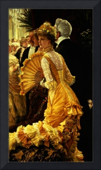 The Ball by James Jacques Joseph Tissot