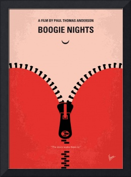 No167 My Boogie Nights minimal movie poster