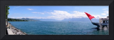 Ouchy and Ferry Panorama