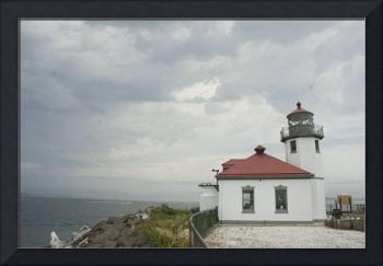 Lighthouse at Alki
