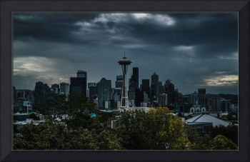 Seattle Skyline - Dramatic
