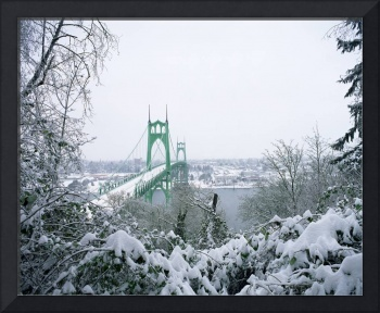Christmas at the St. Johns Bridge