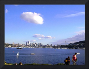 Seattle from Gasworks Park