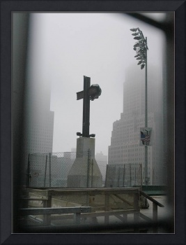 World Trade Center Cross at Ground Zero
