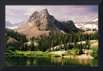 Lake Blanche with Sundial Peak