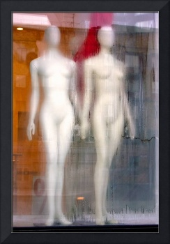 rainy day mannequins