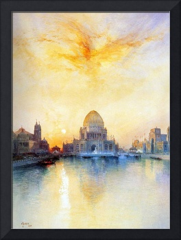 Chicago Worlds Fair (1894) by Thomas Moran
