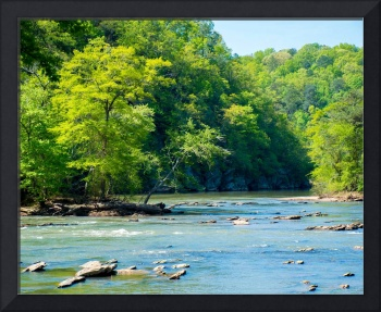 A Spring Morning on the Chattahoochee River