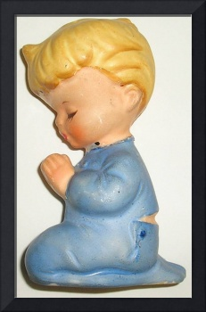 Little Boy Blue Praying