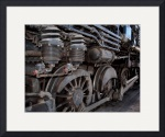 Old  Locomotive 0019 by Jacque Alameddine
