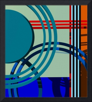 Abstract composition 614
