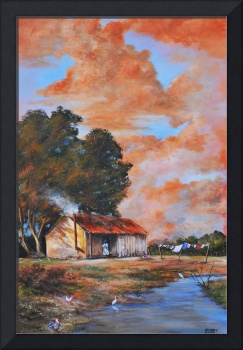 No Place Like Home  SHARE CROPPERS  SOUTHERN ART