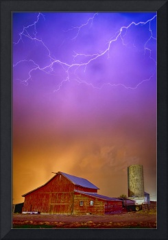 Colorful Country Storm