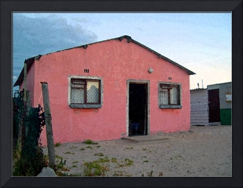 House in Khayelitscha, South Africa