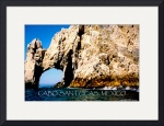 Cabo San Lucas poster by Jacque Alameddine