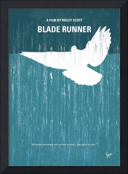 No011 My Blade Runner minimal movie poster