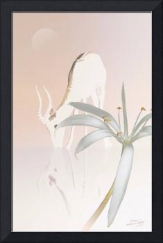 Antelope and Swamp Lily