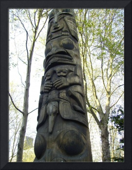 Totem in Occidental Park