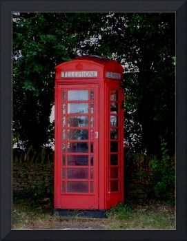 Phone Box Apethorpe Northants