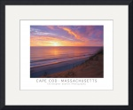 Cape Cod Sunrise Poster by Christopher Seufert