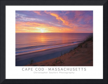 Cape Cod Sunrise Poster