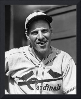 Leo Durocher smiles