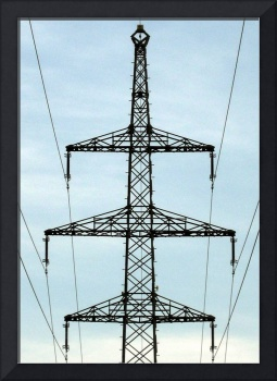 Powerfully Powerful Power Lines in Germany