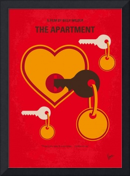 No853 My The Apartment minimal movie poster