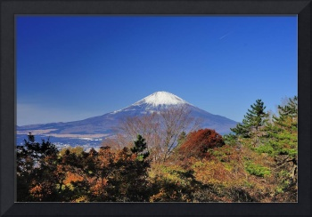 Fuji San, End of Autumn