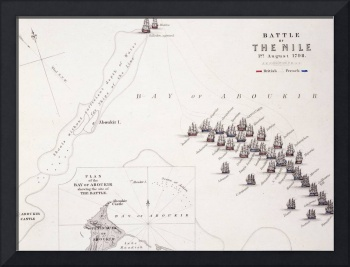 Plan of the Battle of the Nile