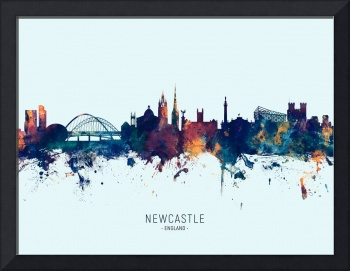 Newcastle England Skyline