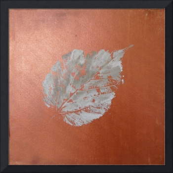 MODERN copper leaf