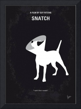 No079 My Snatch minimal movie poster